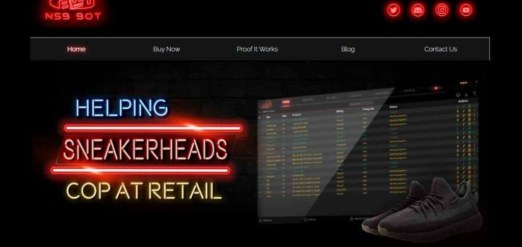 NikeShoeBot.com -- Helping Sneakerheads Cop at Retail