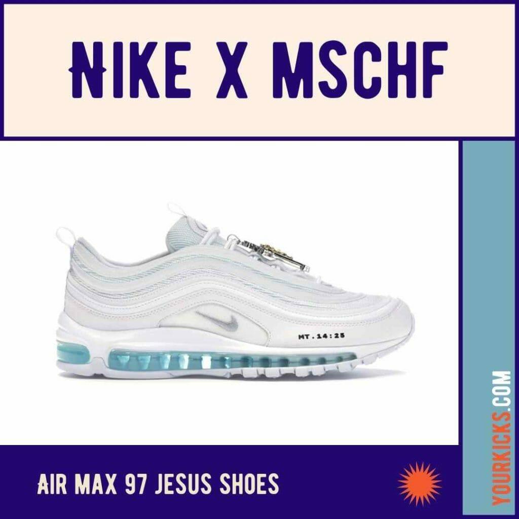 Nike MSCHF Air Max 1997 Jesus Shoes