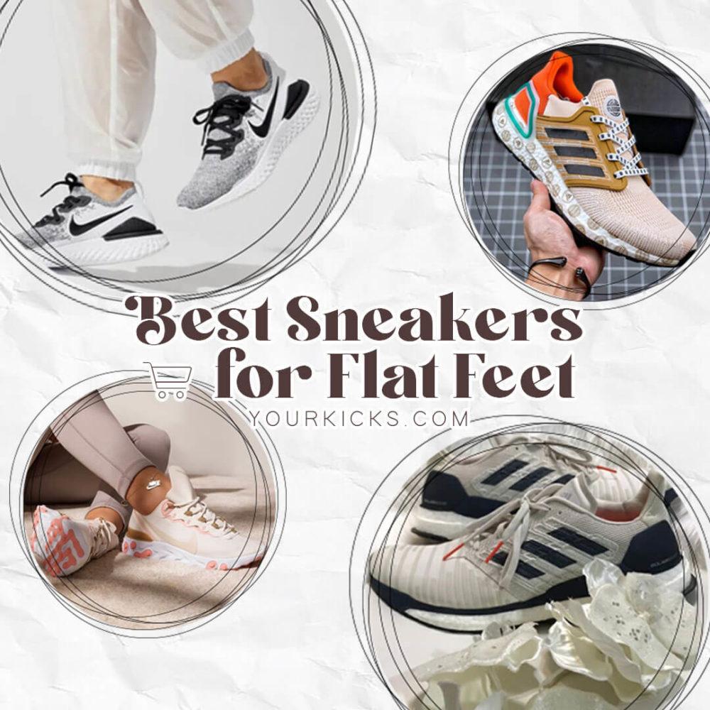 Best Sneakers For Flat Feet